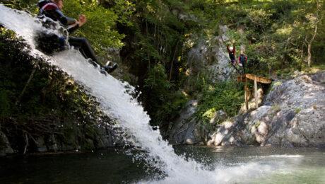 Canyoning en Ardèche